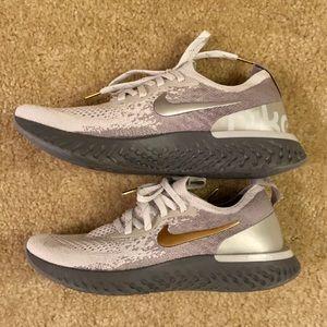 NEW💥 Nike Epic React Sneakers Flyknit 2 7.5 Met